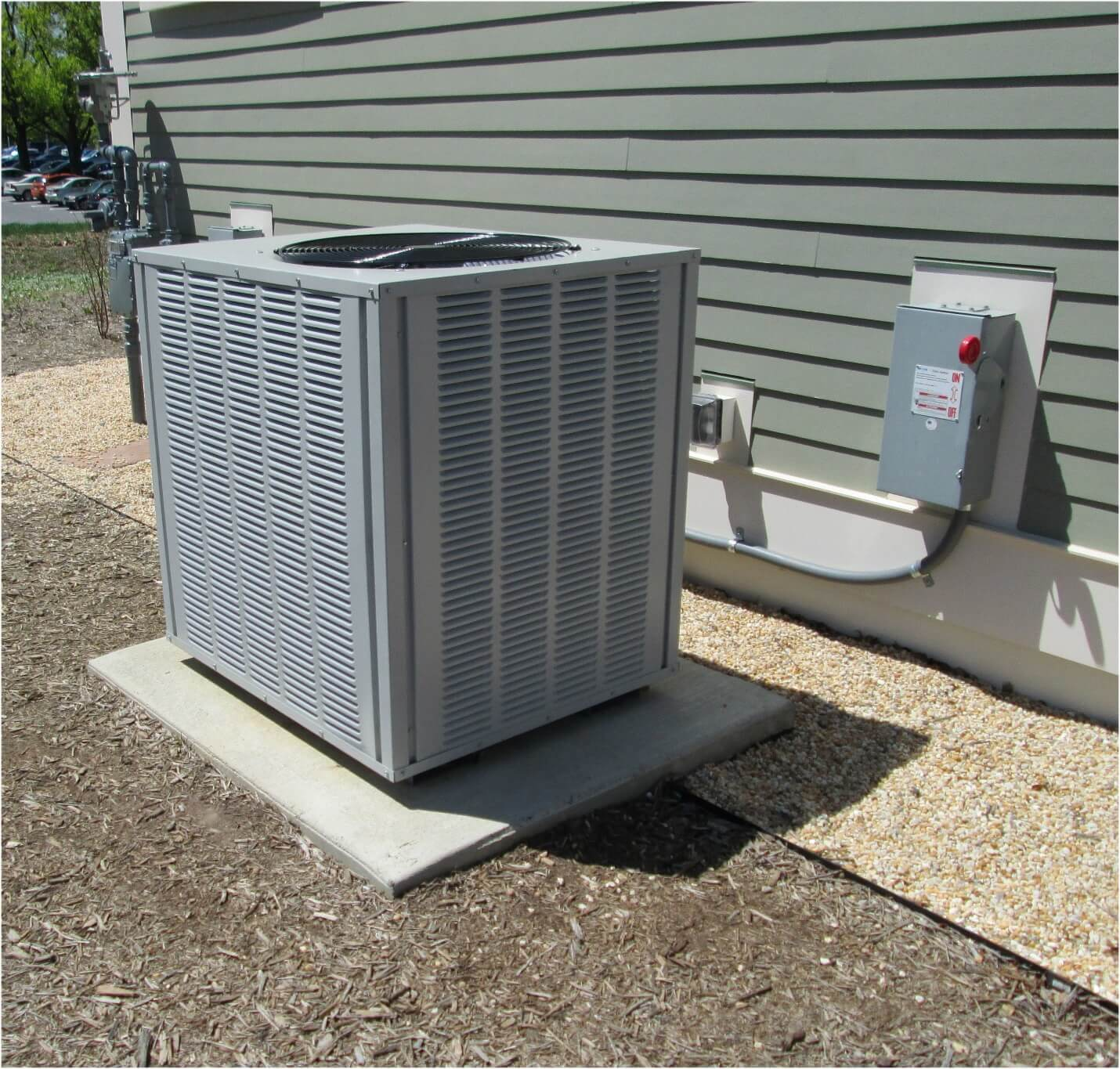 ac system outside
